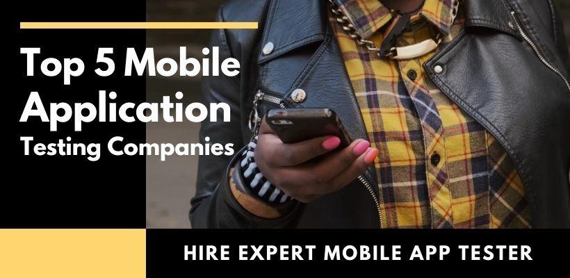 mobile app testing companies